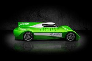 GT EV Racecar Panoz Green4U