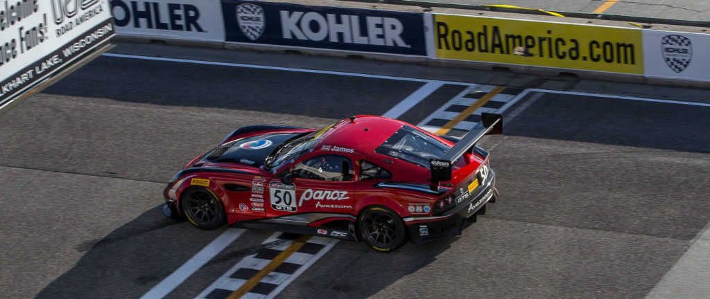 Panoz Avezzano win Road America Ian James GTS GT