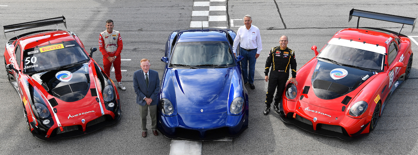 Panoz Announces 2018 Second Season of GT-Class Racing with Two-Car Panoz Avezzano Program