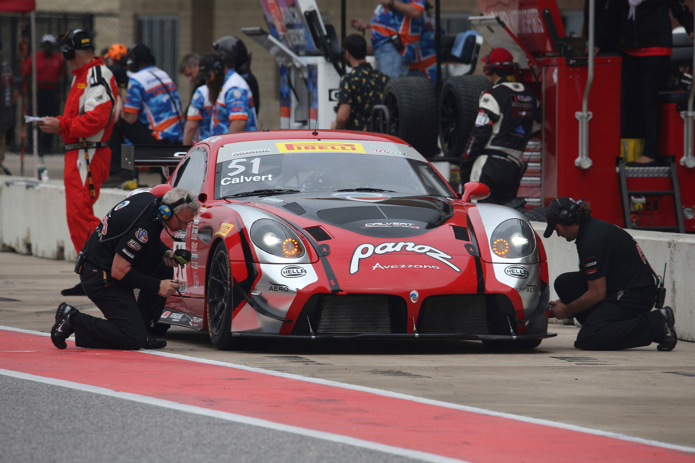 Team Panoz Racing Aims to Build on the Positives of the Grand Prix of Texas