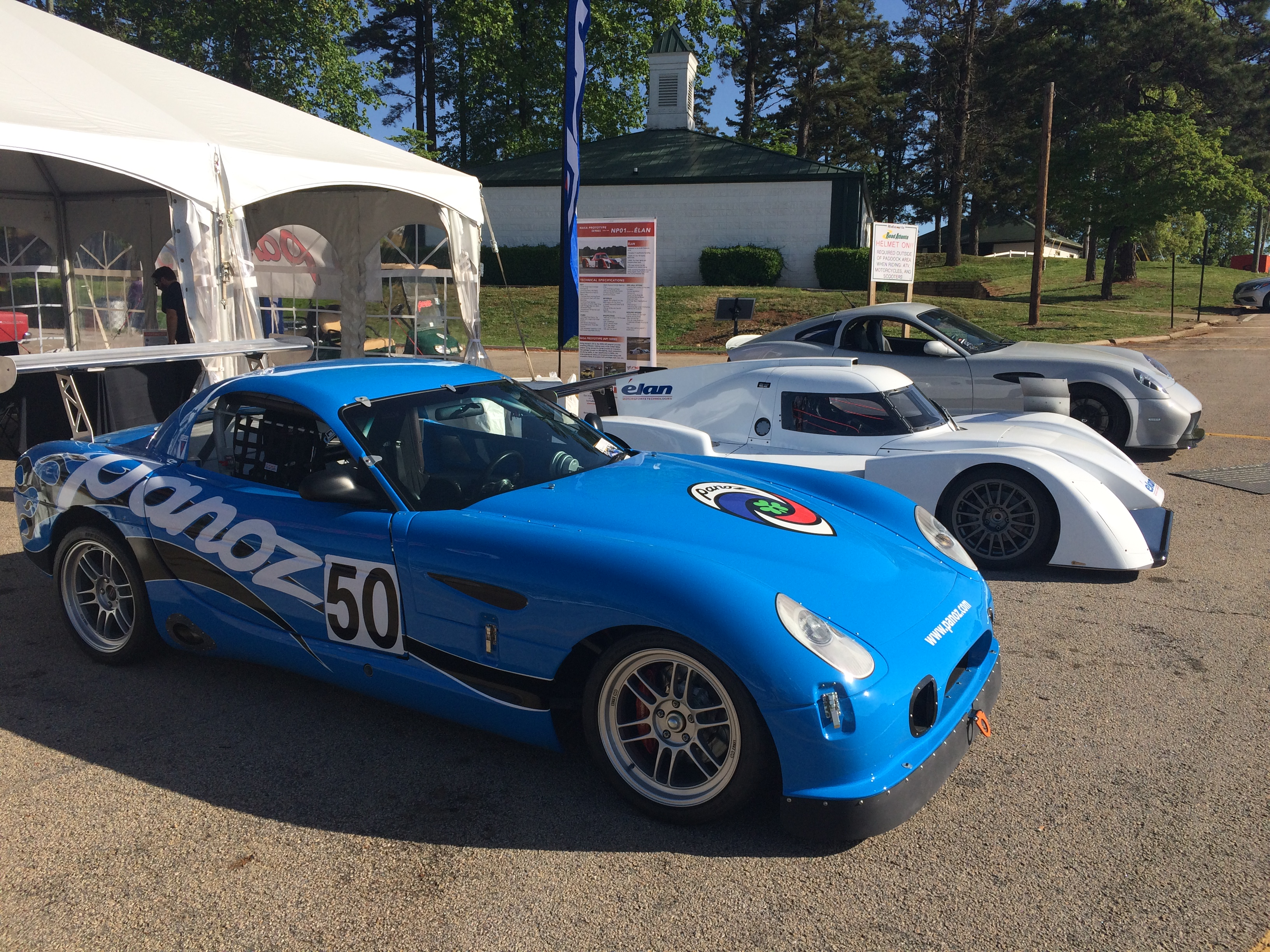 Panoz attends the 2018 Classic Motorsports Mitty
