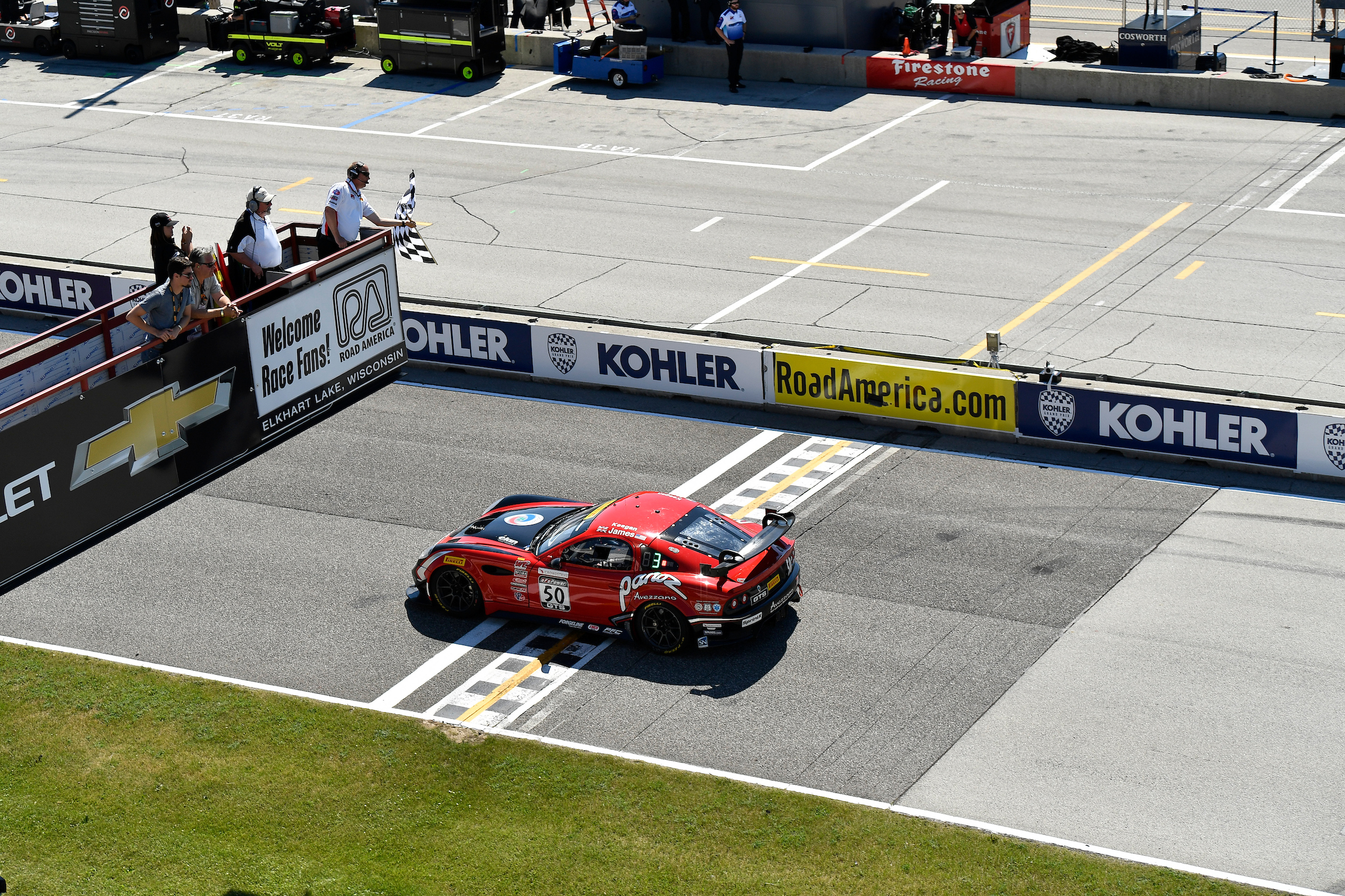 Back-To-Back Wins For Ian James and Team Panoz Racing
