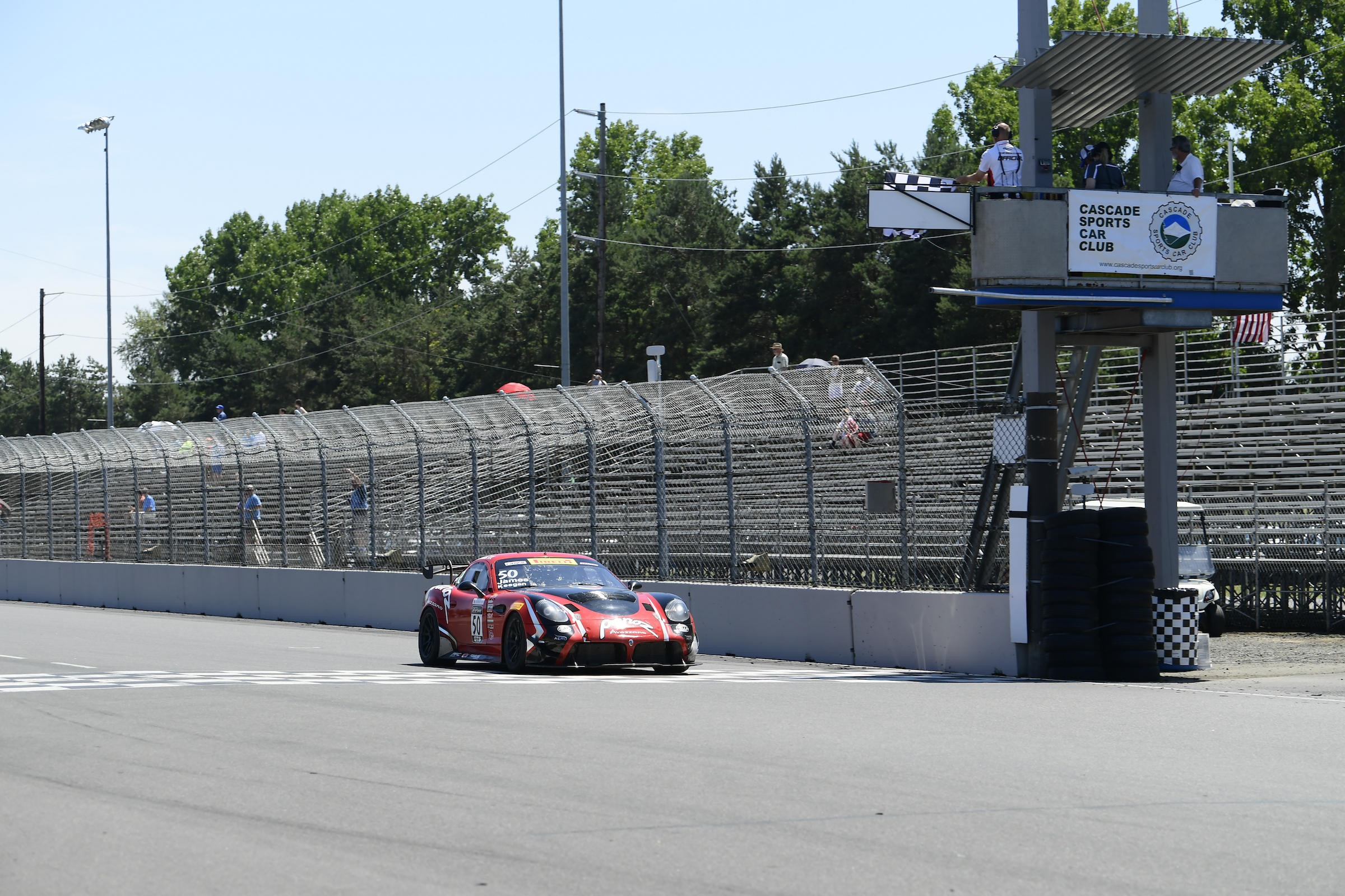 A Winning Weekend For Team Panoz Racing