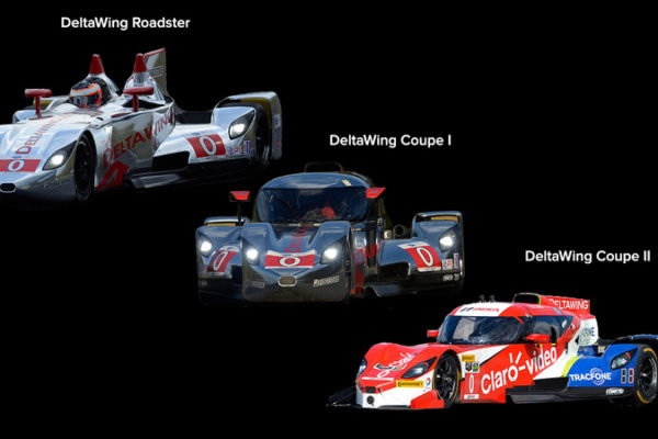 DeltaWing progression